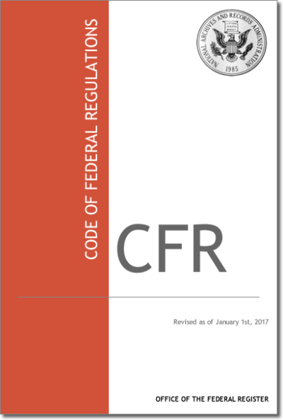 2017 Code of Federal Regulations