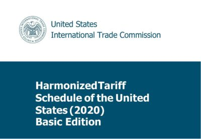 HTS (Harmonized Tariff Schedule) 2020 Edition